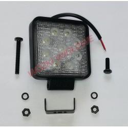 lampa LED - kwadratowa