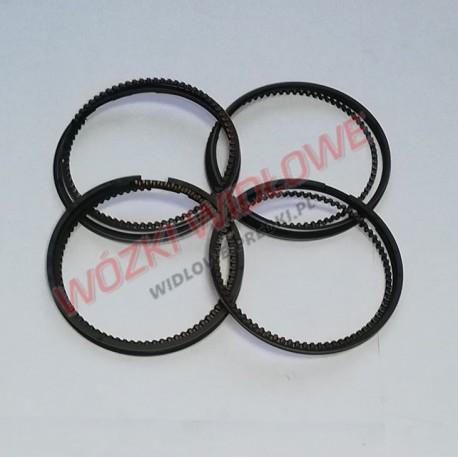 pierścienie Nissan K21 K25 s.typ - nadwymiar
