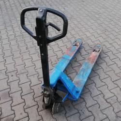 działanie dyszla wózka paletowego