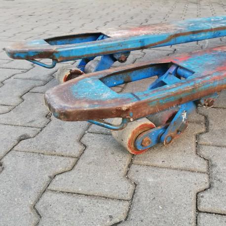 wymiana rolek wózka paletowego