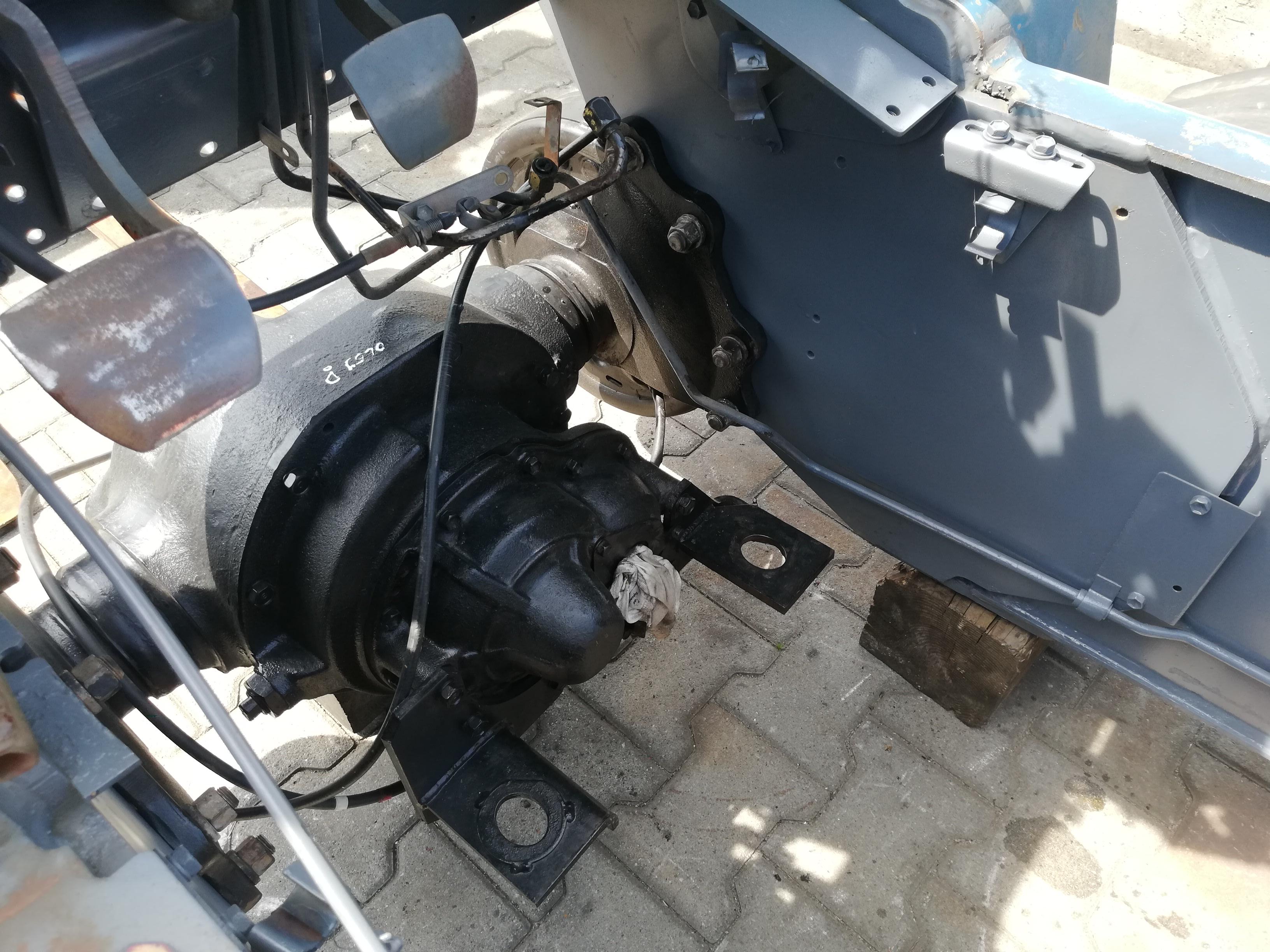 renowacja wózka widłowego